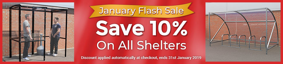 January Sale Shelters