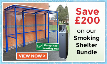 Smoking Shelter offer